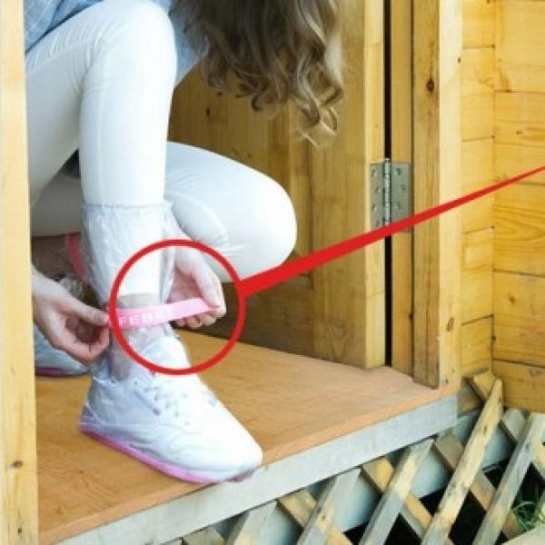 레인커버 신발커버 지속사용가능 신발우비