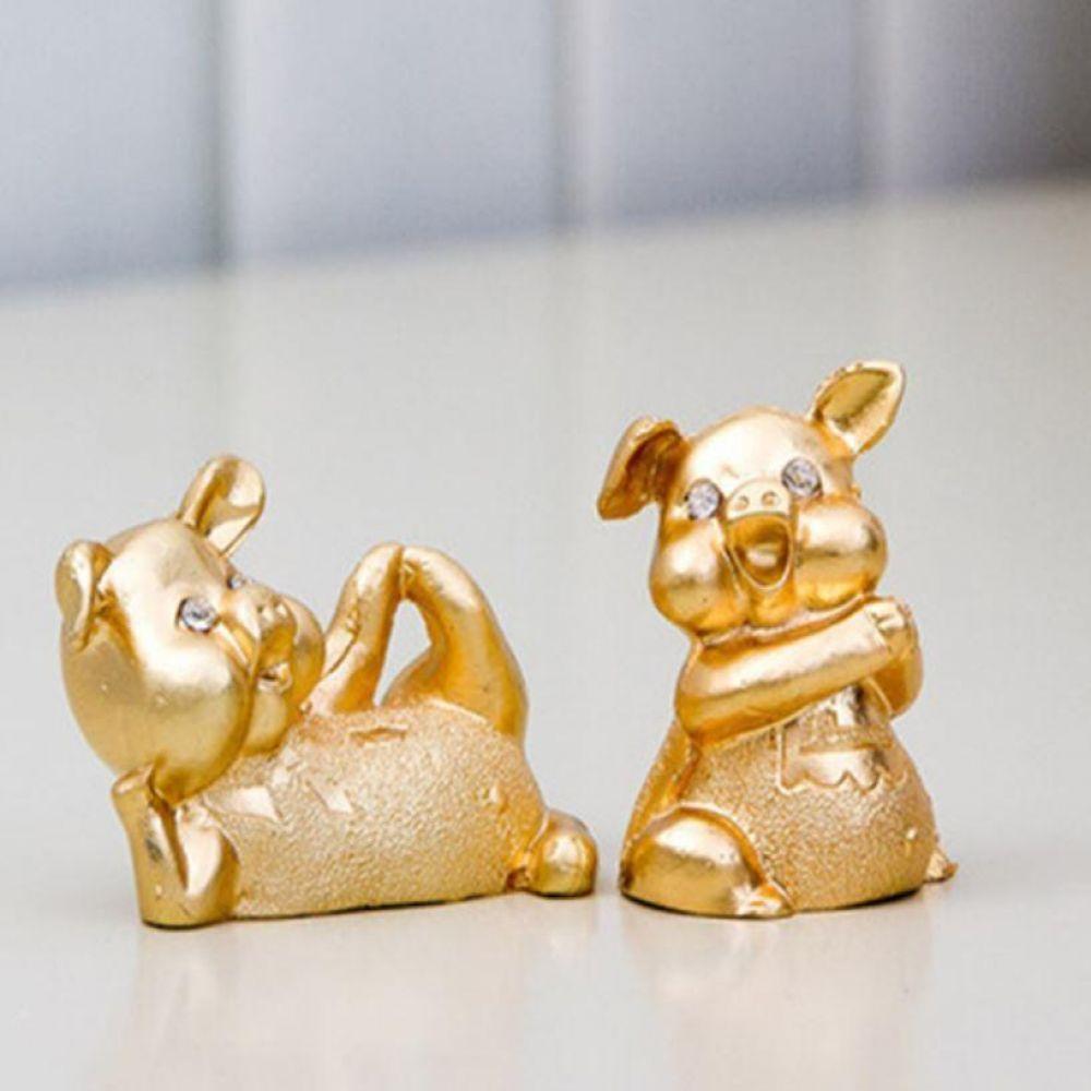 금사랑돼지 복 장식품 인테리어 소품 인형 집들이 선물 황금