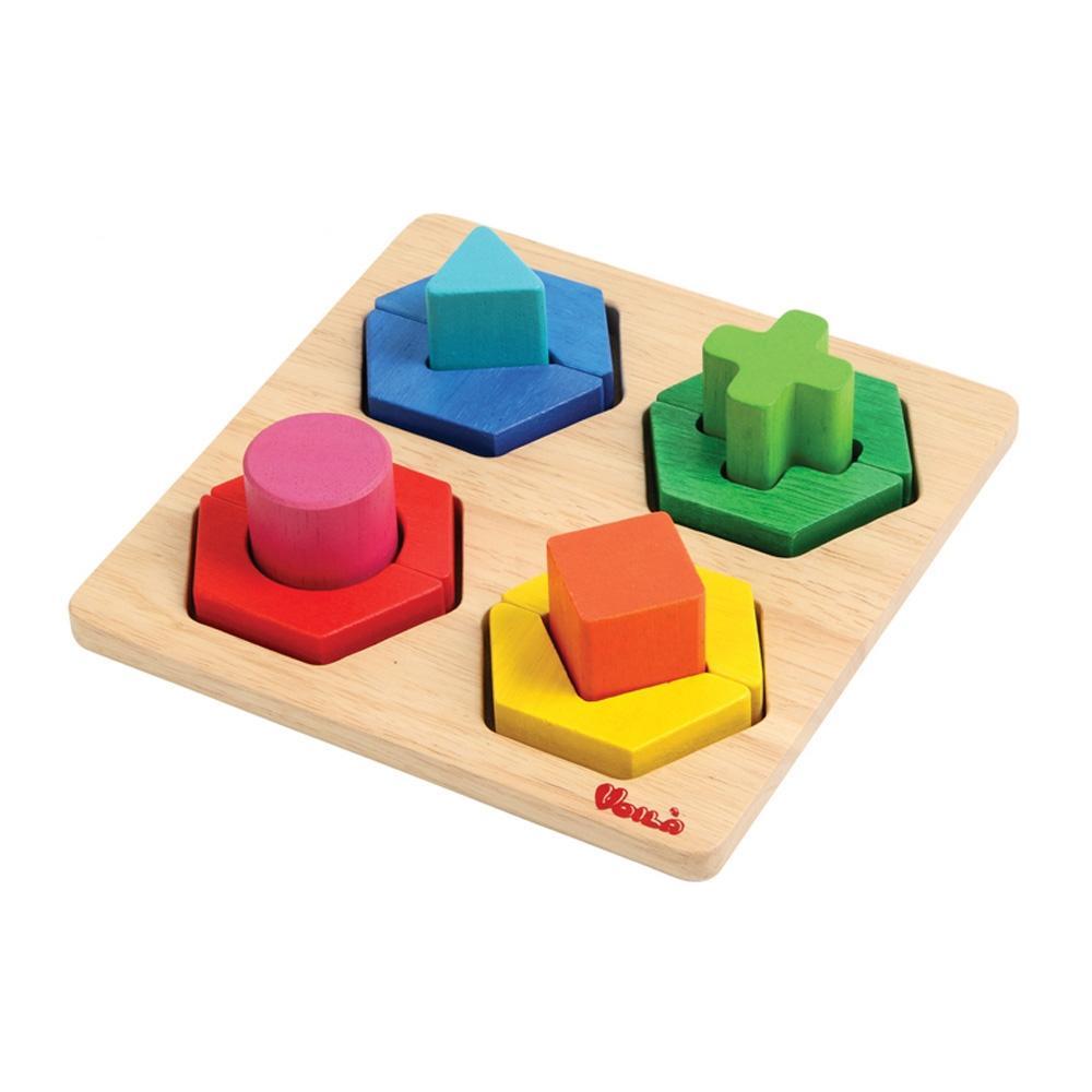 선물 3살 4살 장난감 소꼽놀이 모양 맞추기 어린이 퍼즐 블록 블럭 장난감 유아블럭