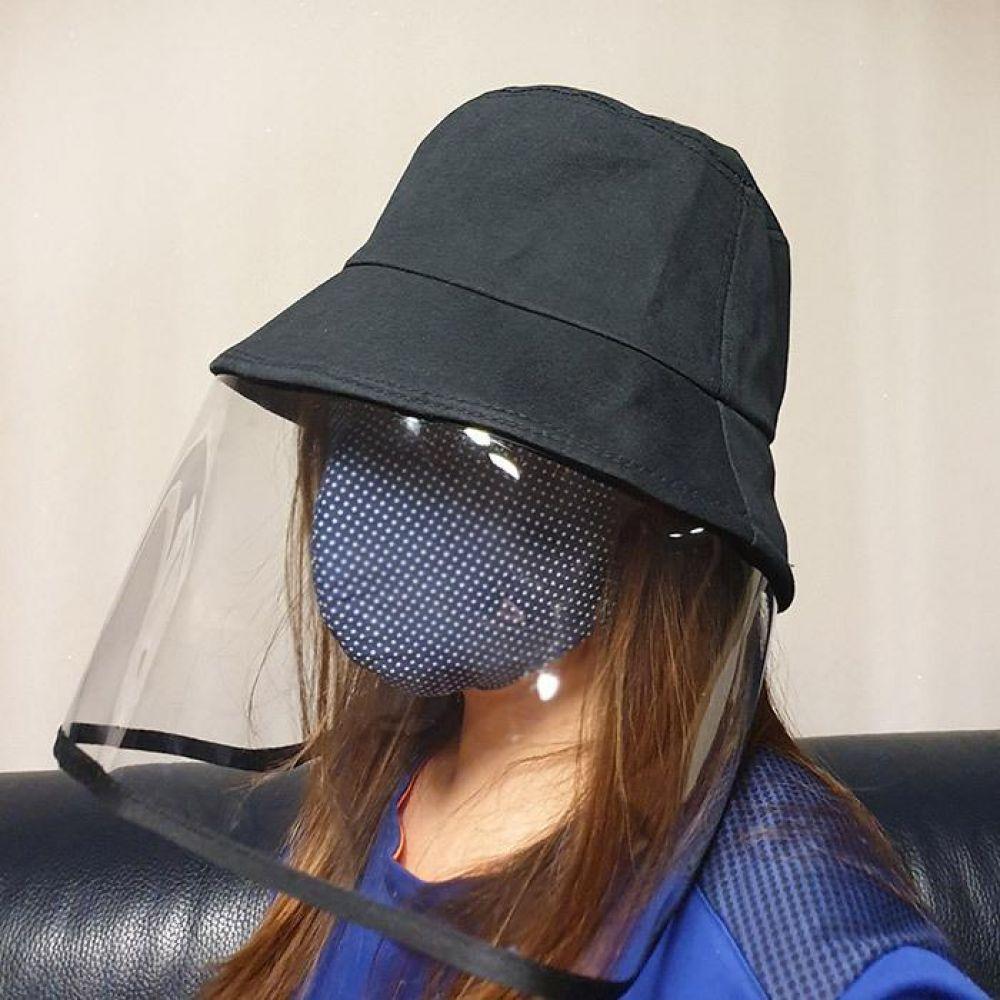 안면보호 투명 마스크 모자 마스크 투명마스크 안면보호대 방진모자 방역모자
