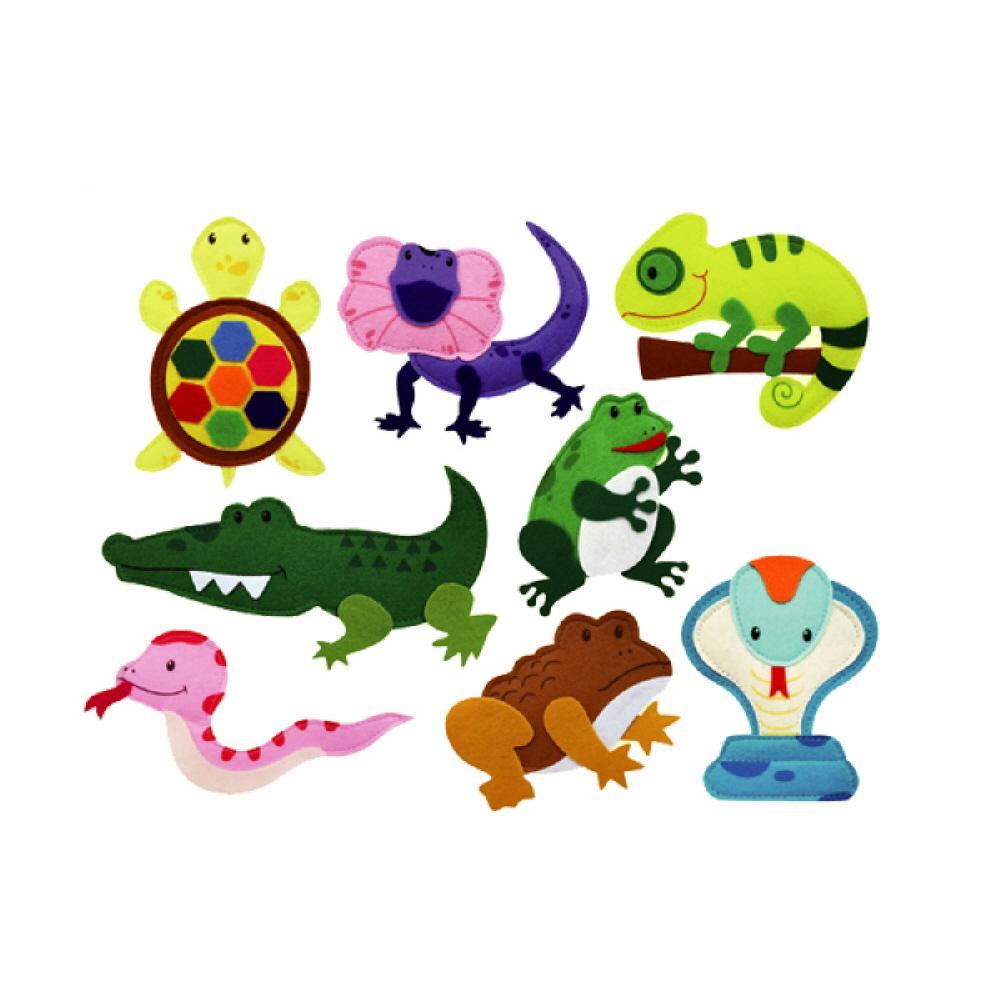 8종 어린이 유아 찍찍이 교구 모형 파충류 양서류 2살장난감 3살장난감 4살장난감 아이놀이 어린이선물
