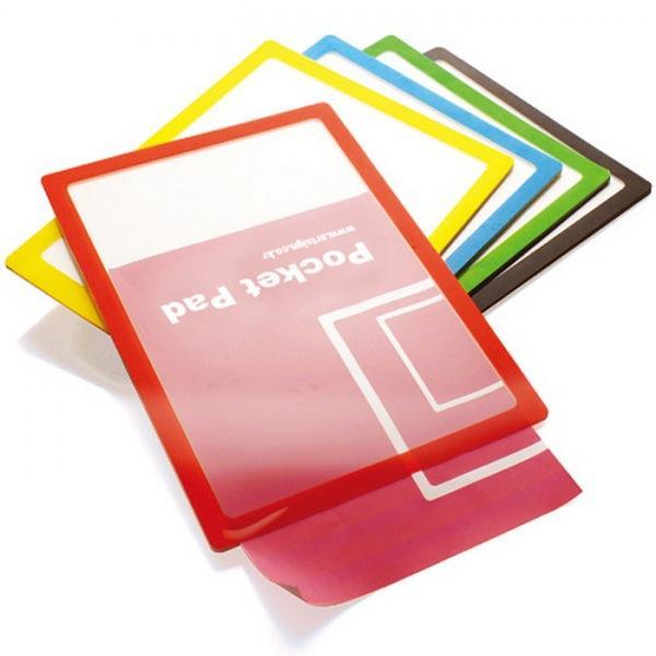 포켓패드 검정 210X297 PP0001 생활잡화 사무용품 잡화 생활용품 다용도 포켓패드 검정