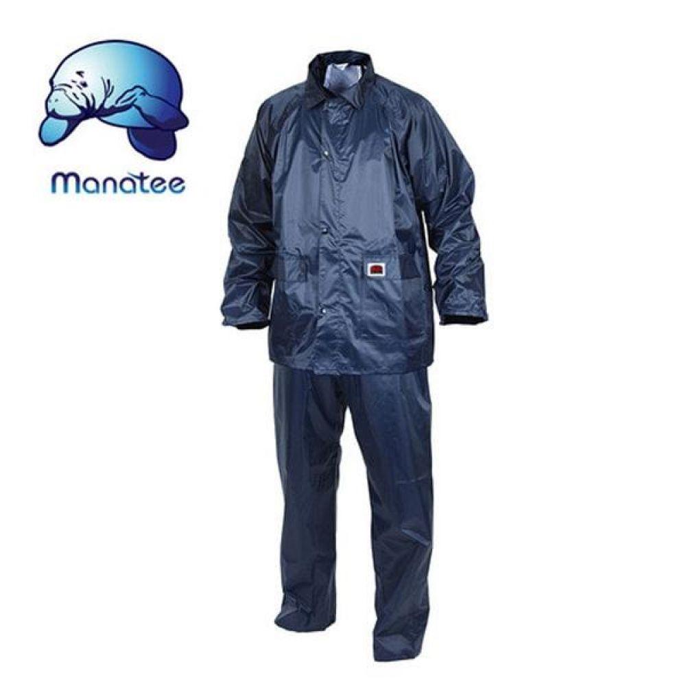 매너티 우의 GI-202(NA) 남성 레인코트 우비 보호복 분리식우의 분리식비옷 남성레인코트 우비 우의 성인우비