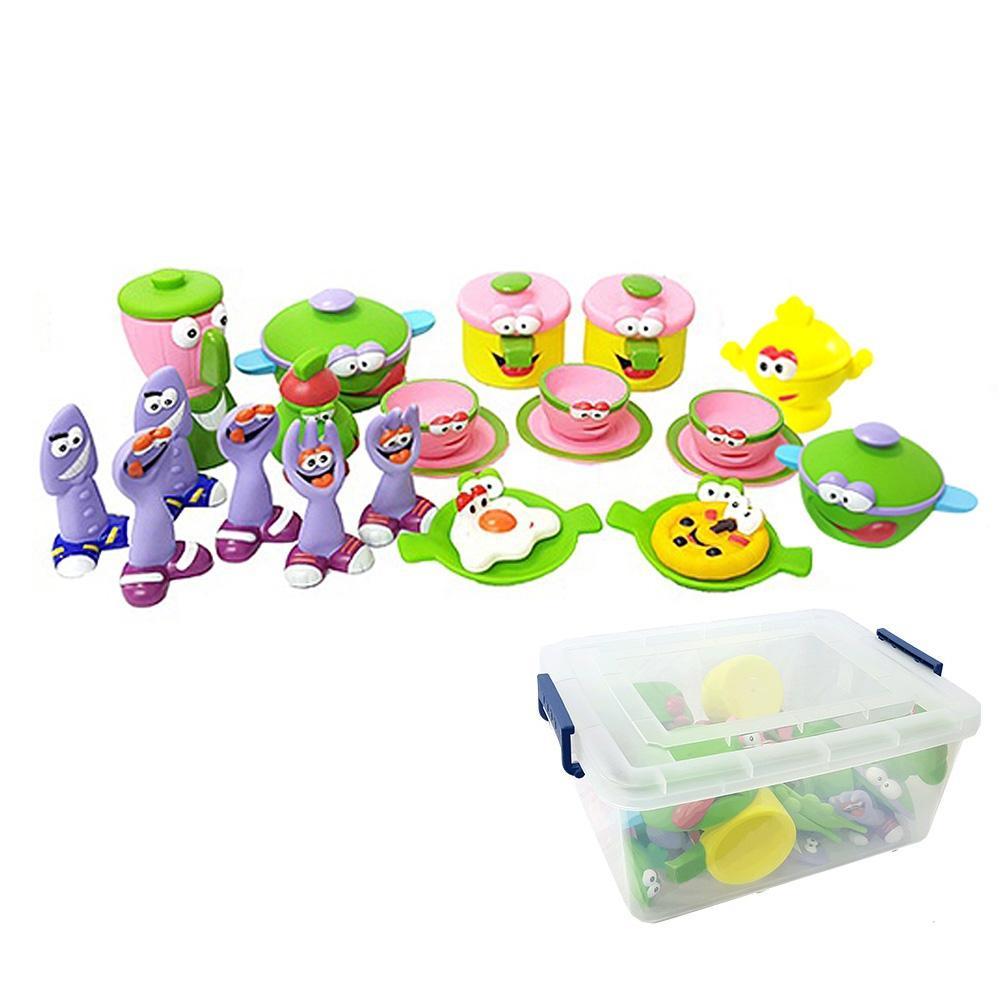 완구 유아 아이 장난감 그린 소꿉놀이 세트 30pcs 유아원 장난감 2살장난감 3살장난감 4살장난감