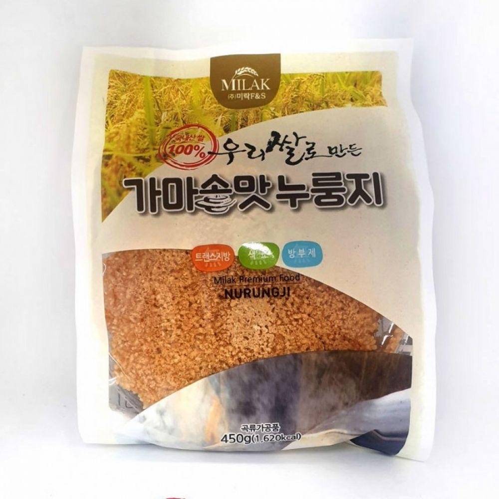 고소한 누룽지 국내산 우리쌀 가마솥맛 누룽지 450g 누룽지 즉석밥 간편식 누룽지탕 국내산누룽지 보리누룽지 국산누룽지 가마솥맛누룽지 대용량누룽지 옛날누룽지