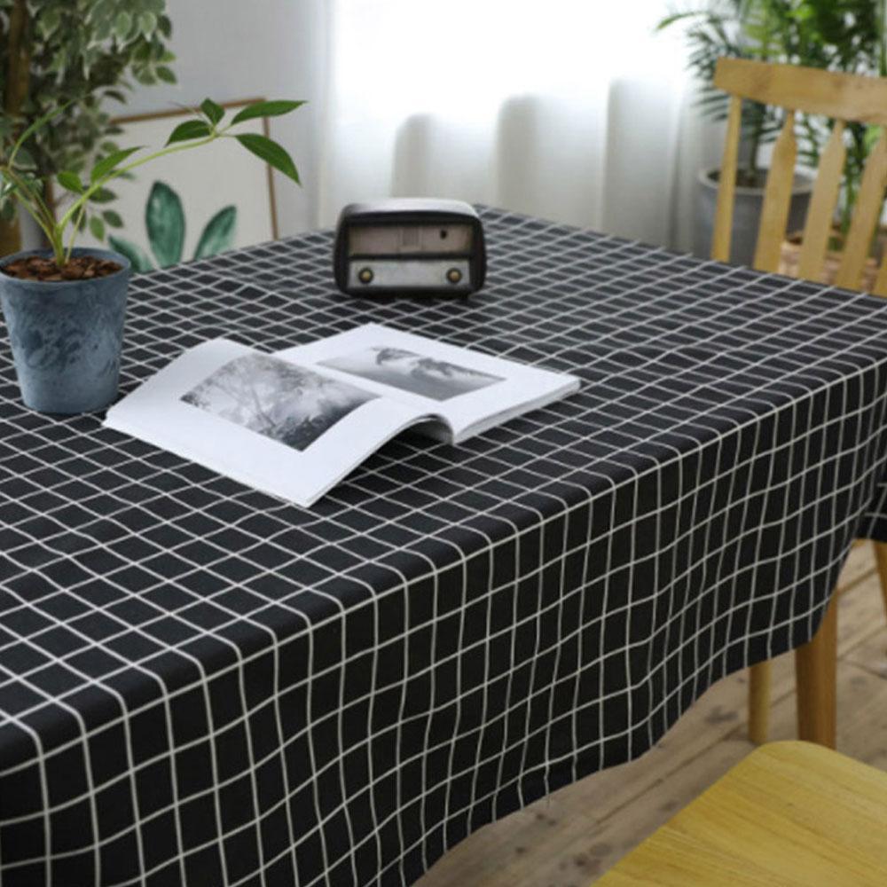 커버 대형 방수 테이블보 식탁보 예쁜 체크 패턴 식탁 방수식탁커버 테이블커버 식탁커버 예쁜식탁보 방수테이블보