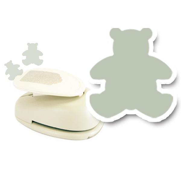 모양펀치 R-76(펀칭규격76mm이내) 005 곰 모양펀치 미니펀칭기 펀치 모양만들기 공예