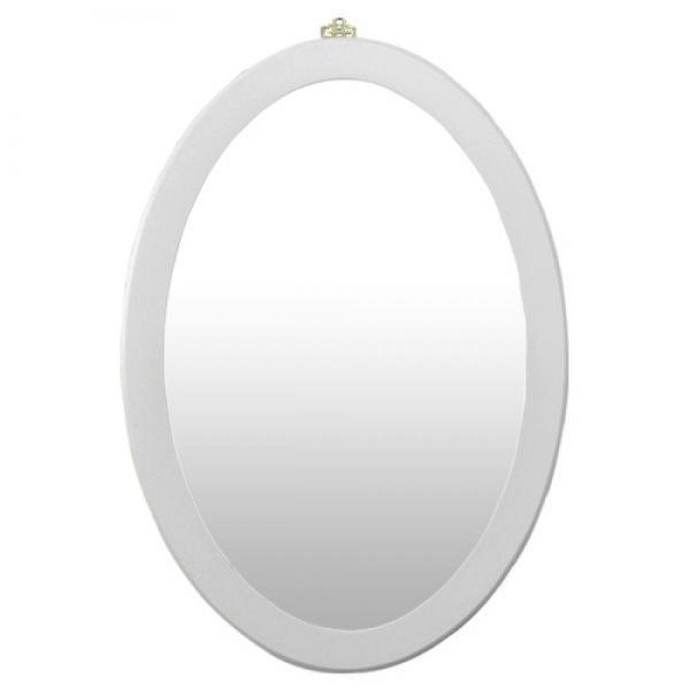 IG7164 화이트 타원형 벽거울 69cm 제조한국 벽거울 인테리어거울 원목거울 디자인거울 장식거울 모던거울 인테리어소품 벽인테리어 거울 미러