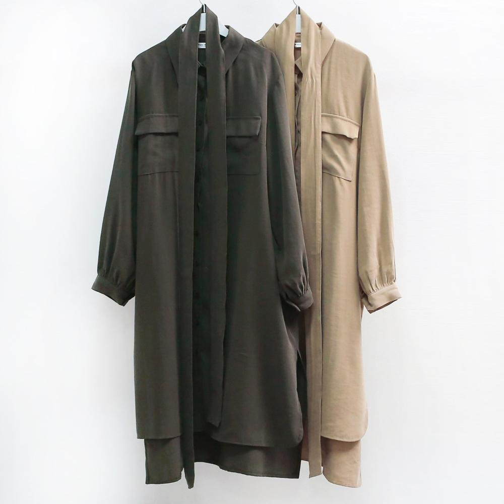 미시옷 6673L909 투 포켓 셔츠 원피스 WB 빅사이즈 여성의류 빅사이즈 여성의류 미시옷 임부복 베니스카라원피스