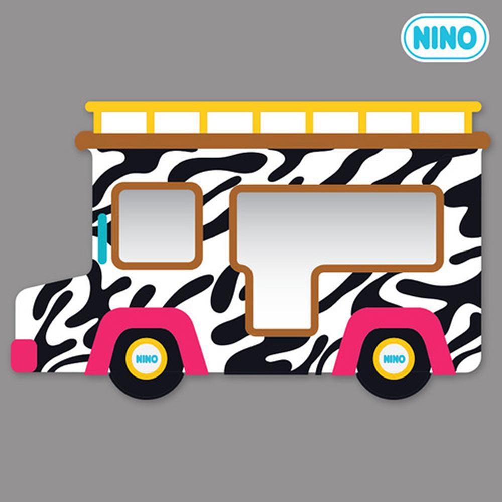측면 아이방 소품 안전 거울 니노 미러보드 사파리차 안전거울 어린이집 유아원 인테리어소품 아이놀이