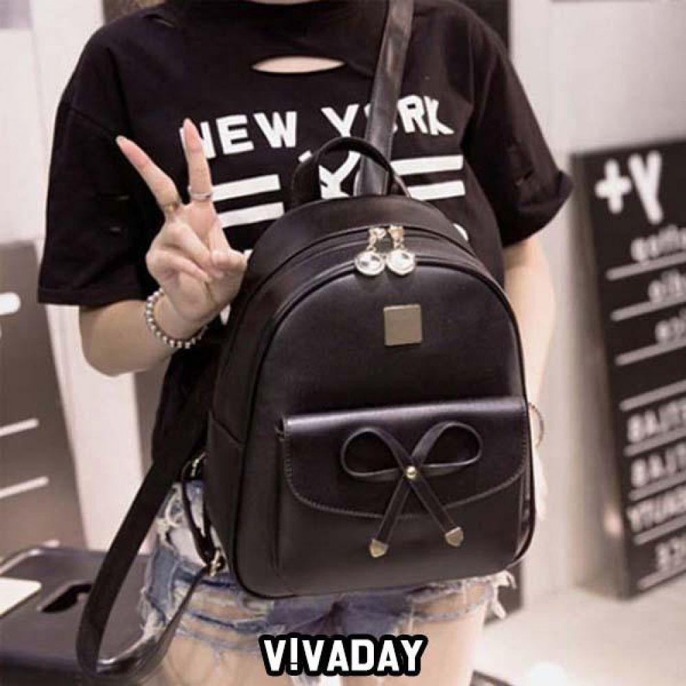 LEA-A206 리본백팩 숄더백 토트백 핸드백 가방 여성가방 크로스백 백팩 파우치 여자가방 에코백