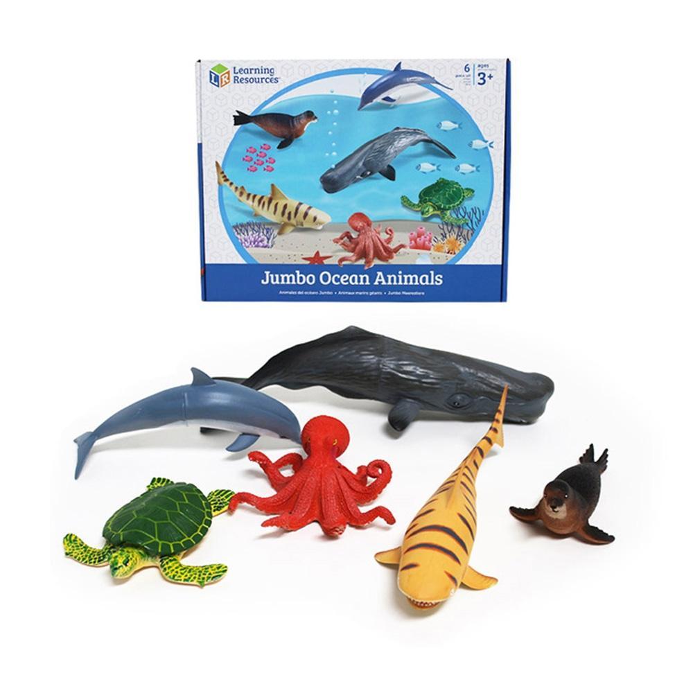 선물 어린이 아이 과학 학습 교구 점보 해양 동물 유아원 장난감 학습교구 교구 놀이교구