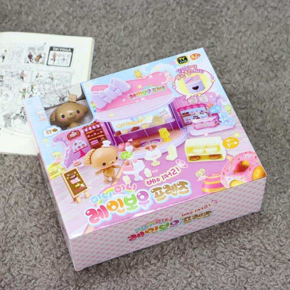 레인보우프렌즈 베이커리 어린이선물 유아장난감 유아장난감 역할놀이 어린이선물 캐릭터인형 소꿉놀이