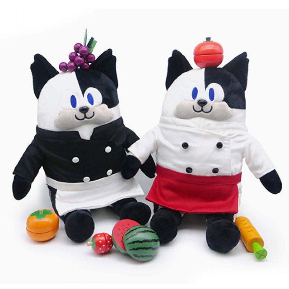 냉장고를부탁해 쿠마오 인형-35cm 인형선물 캐릭터 캐릭터인형 봉제인형 귀여운인형 동물인형 고양이인형 냉장고를부탁해 쿠마오 쉐프