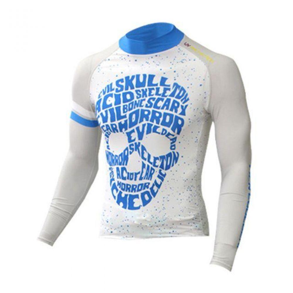 스포츠 기능성 이너웨어 언더레이어 티셔츠 (스컬) 기능성속옷 스포츠이너웨어 기능성민소매 남성언더레이어 여성이너웨어 기능성티셔츠 골프이너웨어