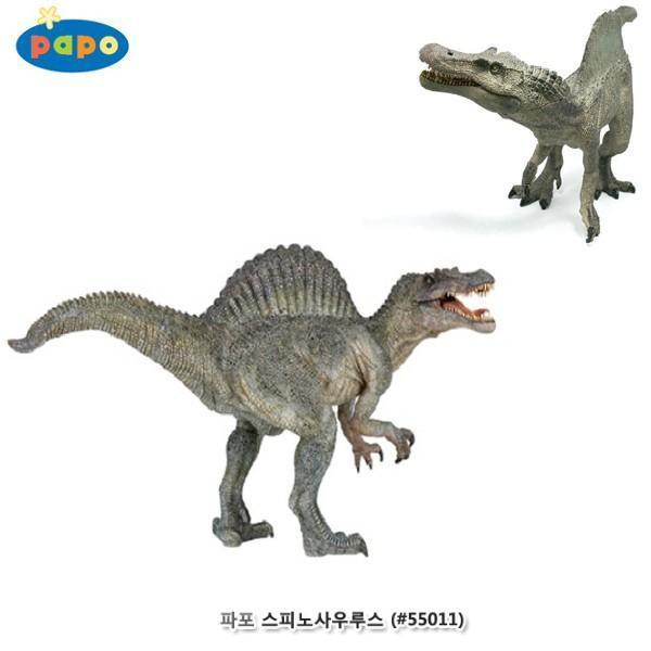파포 (공룡 모형완구) 스피노사우루스 (55011) 동물모형 공룡 모형완구 완구 스피노사우루스