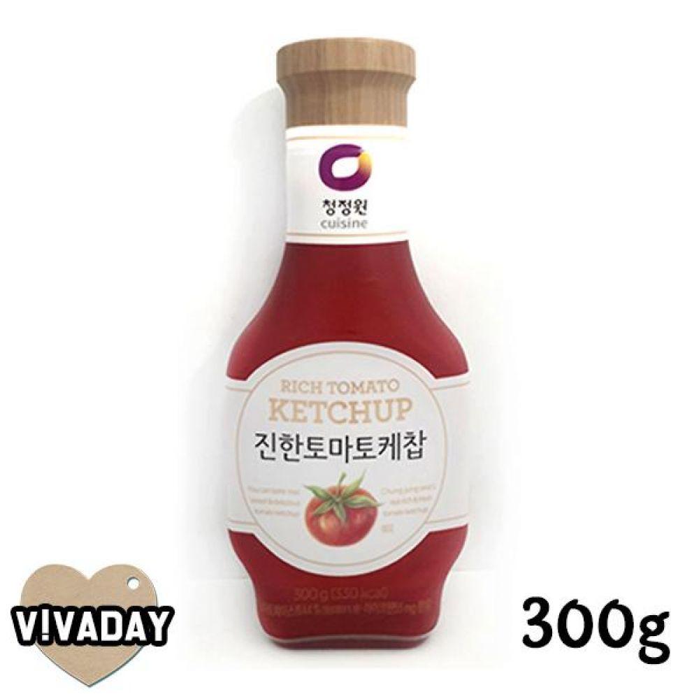 MY 청정원 진한토마토케찹300g 3분요리 간편식품 즉석식품 자취생 마요네즈 케찹
