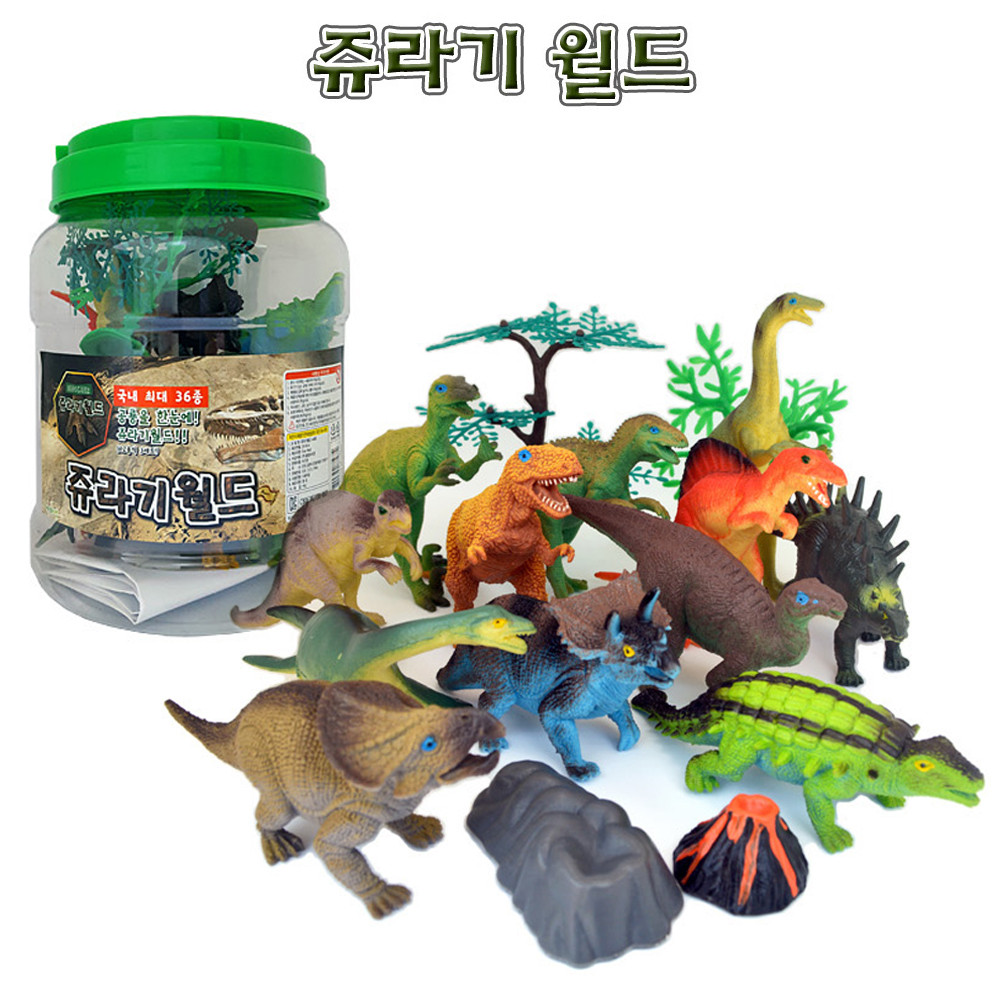 Fine Well 쥬라기월드 공룡피규어 12종 장난감 공룡모형 모형완구 공룡완구 장난감 공룡