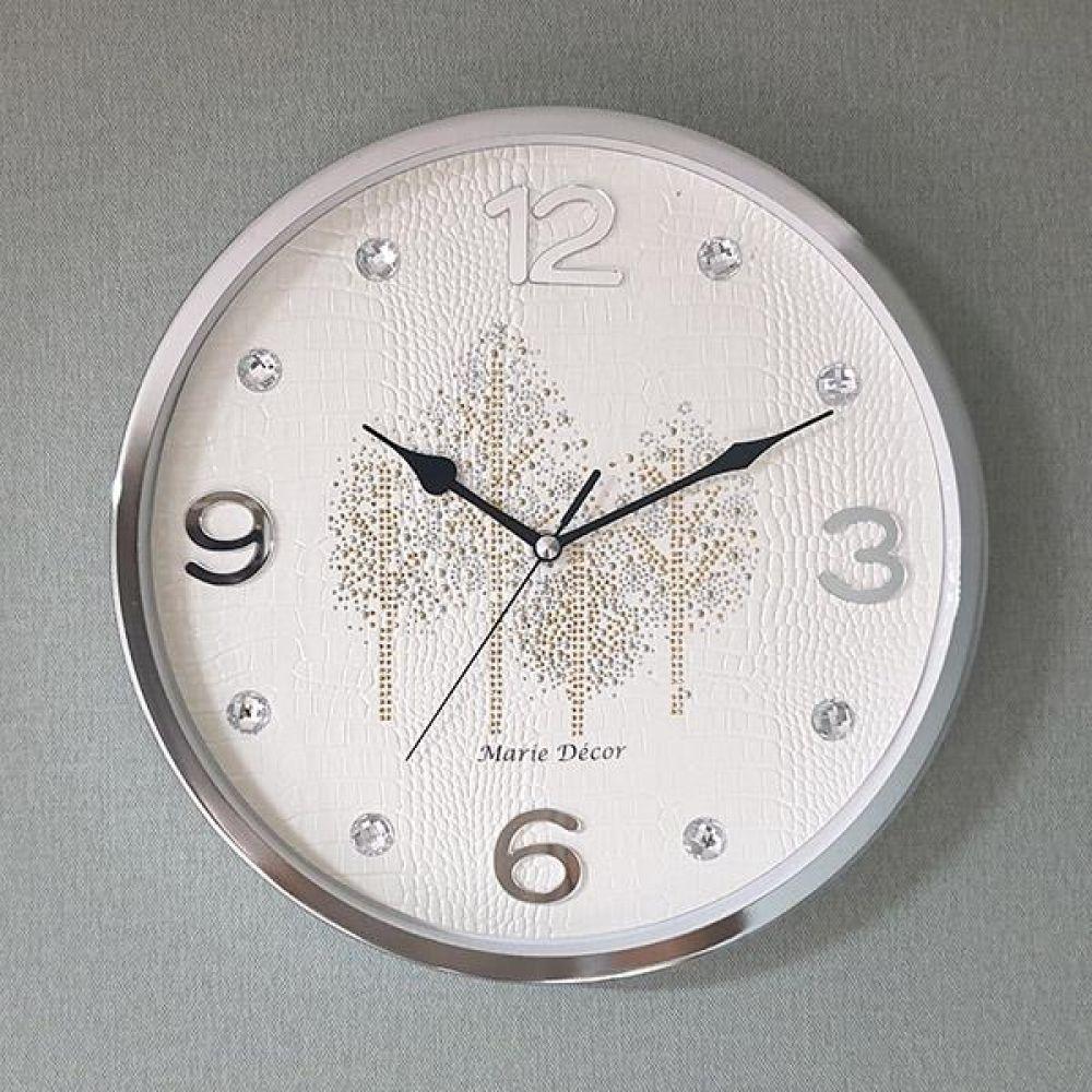 골드우드 무소음 벽시계 (아이보리) 벽시계 벽걸이시계 인테리어벽시계 예쁜벽시계 인테리어소품