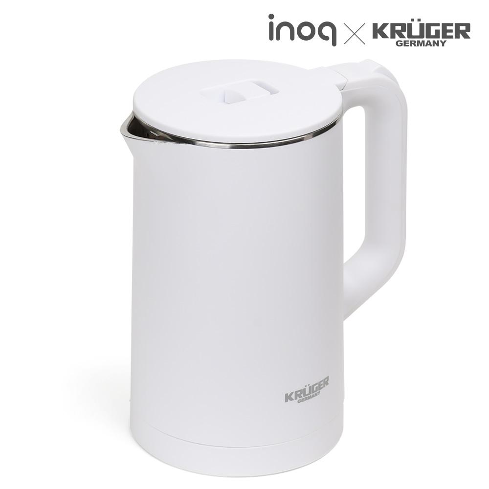 크루거 2리터 무선포트 (샤오미 타입) KGK-2000W 주전자 물통 온수기 포트 물끓이개