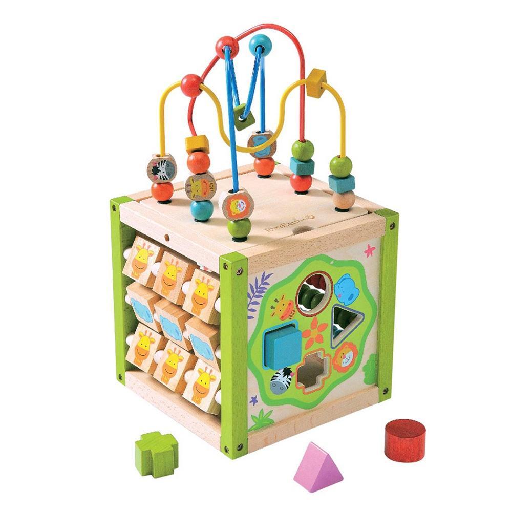 롤러코스터 장난감 어린이 교육 놀이 완구 다기능 유아원 장난감 2살장난감 3살장난감 4살장난감