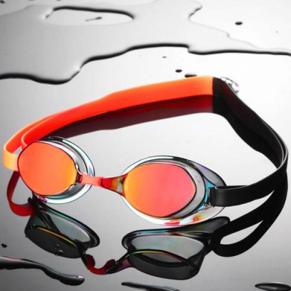 SGL-8200-RDORBK SD7 선수용 노패킹 컬러믹스 수경 수영용품 물안경 남자수경 여자수경 성인물안경