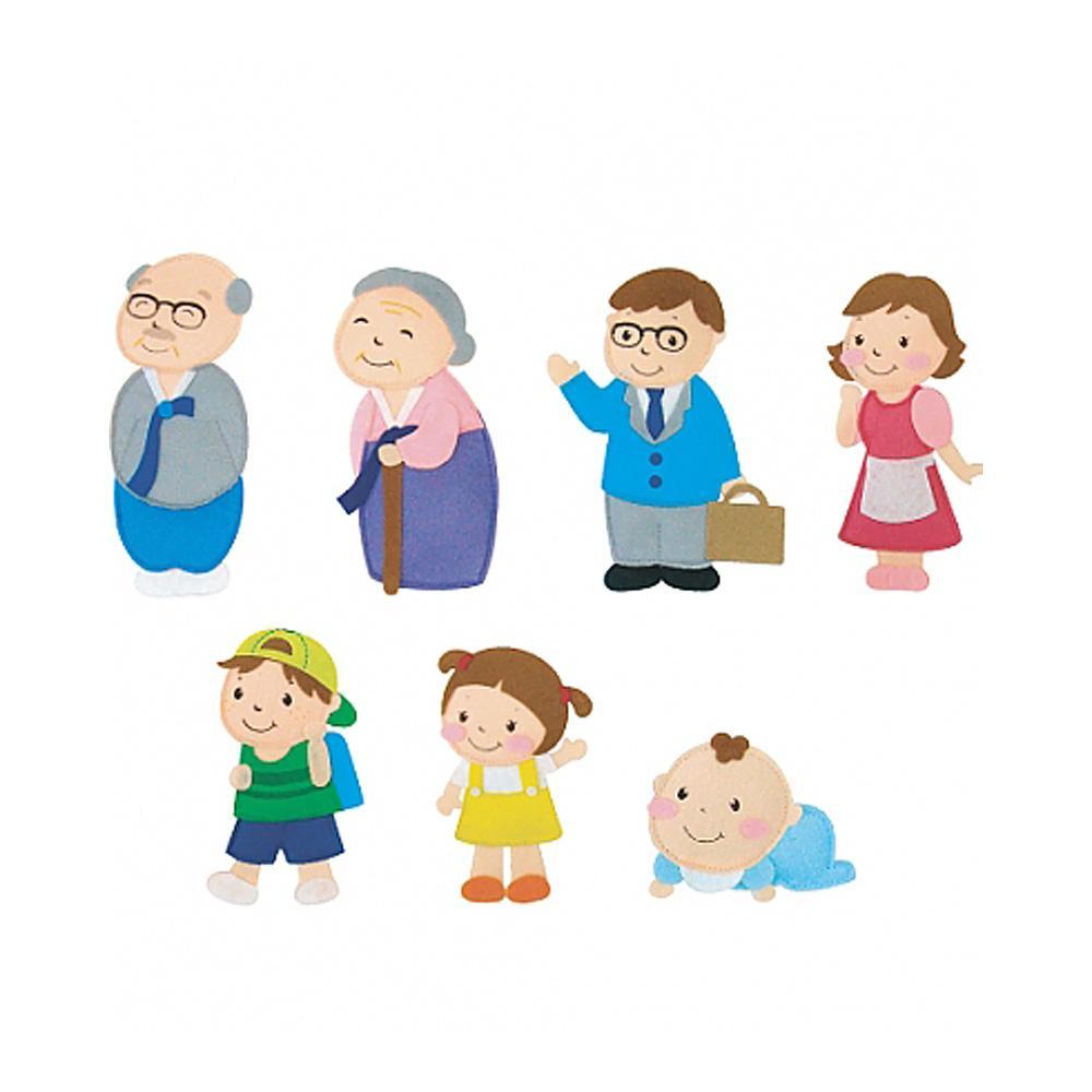 선물 어린이 유아 찍찍이 교육 교구 모형 가족 조카 2살장난감 3살장난감 4살장난감 아이놀이 어린이선물