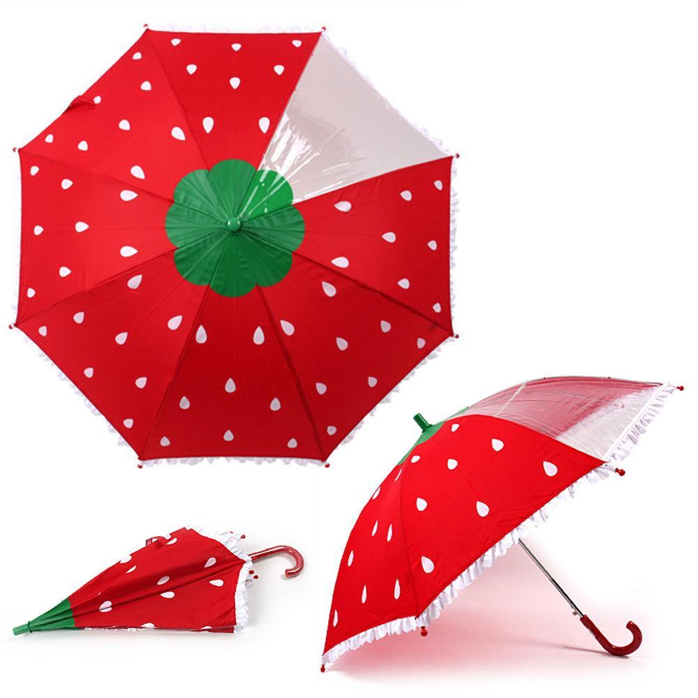 성창 라프롬나드 53 딸기 우산 어린이 우산 아동우산 아동 캐릭터