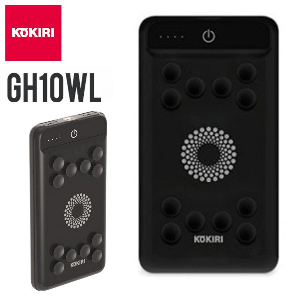 블랙 보조배터리 GH10WL 10000mAh 유무선충전 밧데리 보조 배터리 밧데리 스마트폰 급속충전