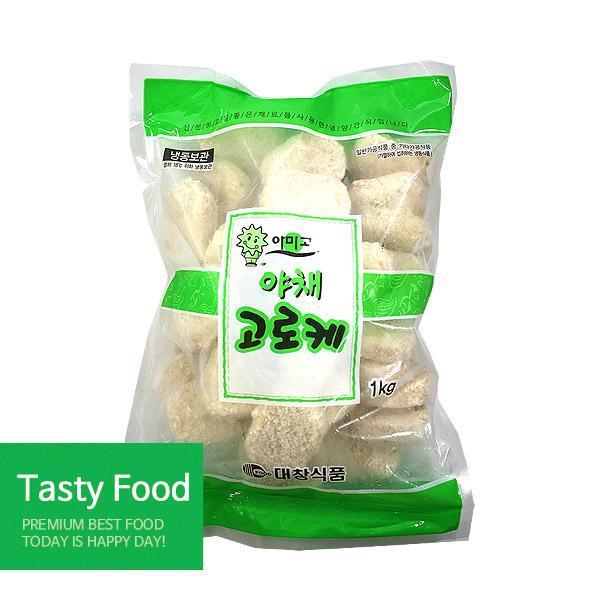(냉동)신승 대창야채고로케1kgX10개 고로케 신승식품 야채고로케 식자재 식품