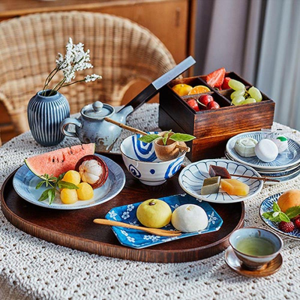 우쥬 대접 5P 예쁜그릇 국그릇 식기 주방용품 대접 국그릇 예쁜그릇 식기 주방용품