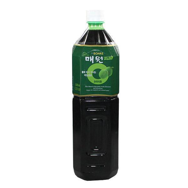 보해 매원디럭스(매실농축액)1.5L 매실액 매실액기스 매실농축액 음료베이스 식자재