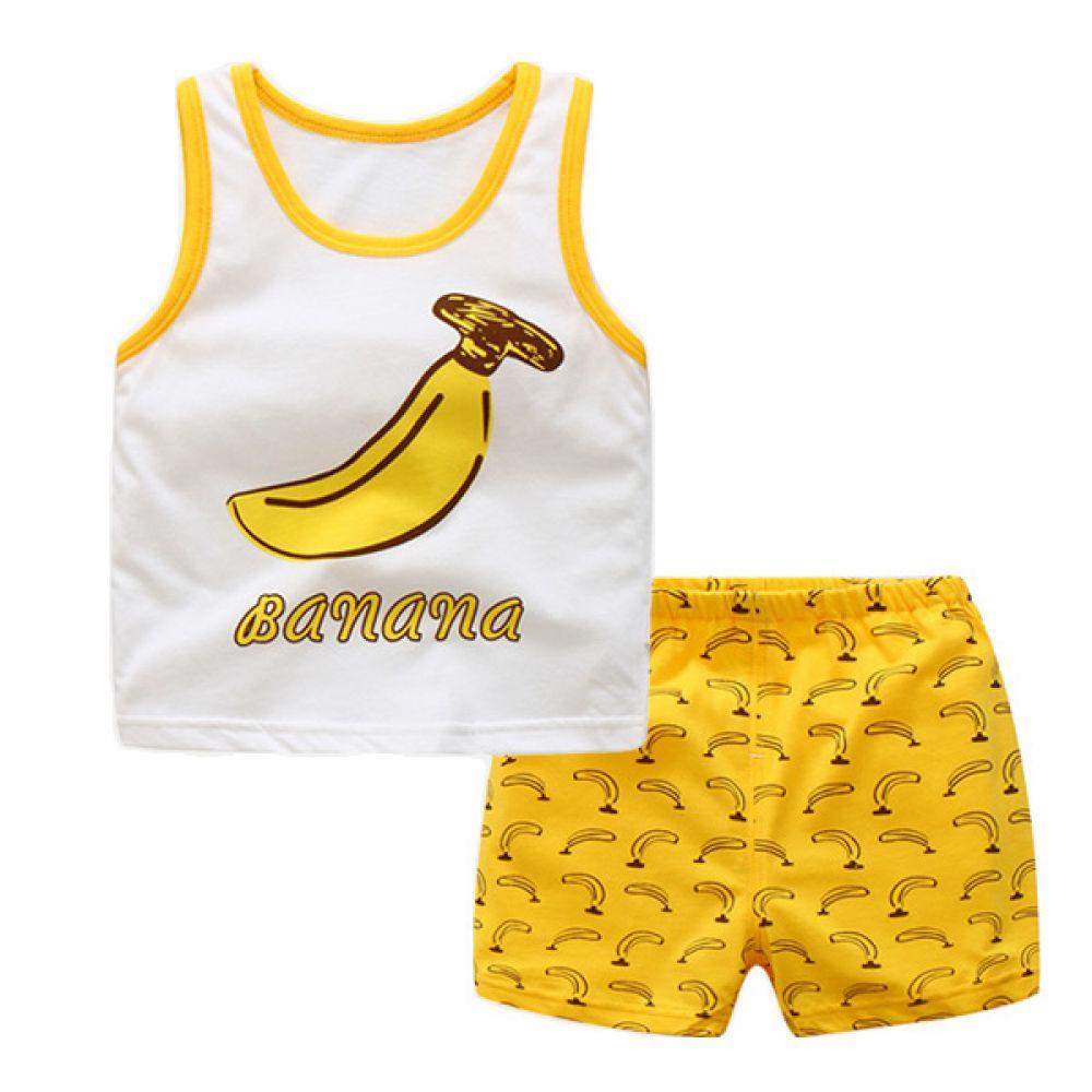 바나나 민나시 유아 상하복(0-3세)300084 아기외출복 백일아기옷 아기룸퍼 6개월아기옷 돌아기옷 신생아외출복 베이비롬퍼