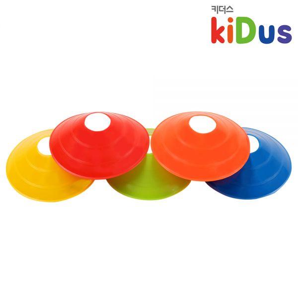 [키더스] 접시콘 유아체육 축구 칼라콘 허들콘 안전용품 트레이닝