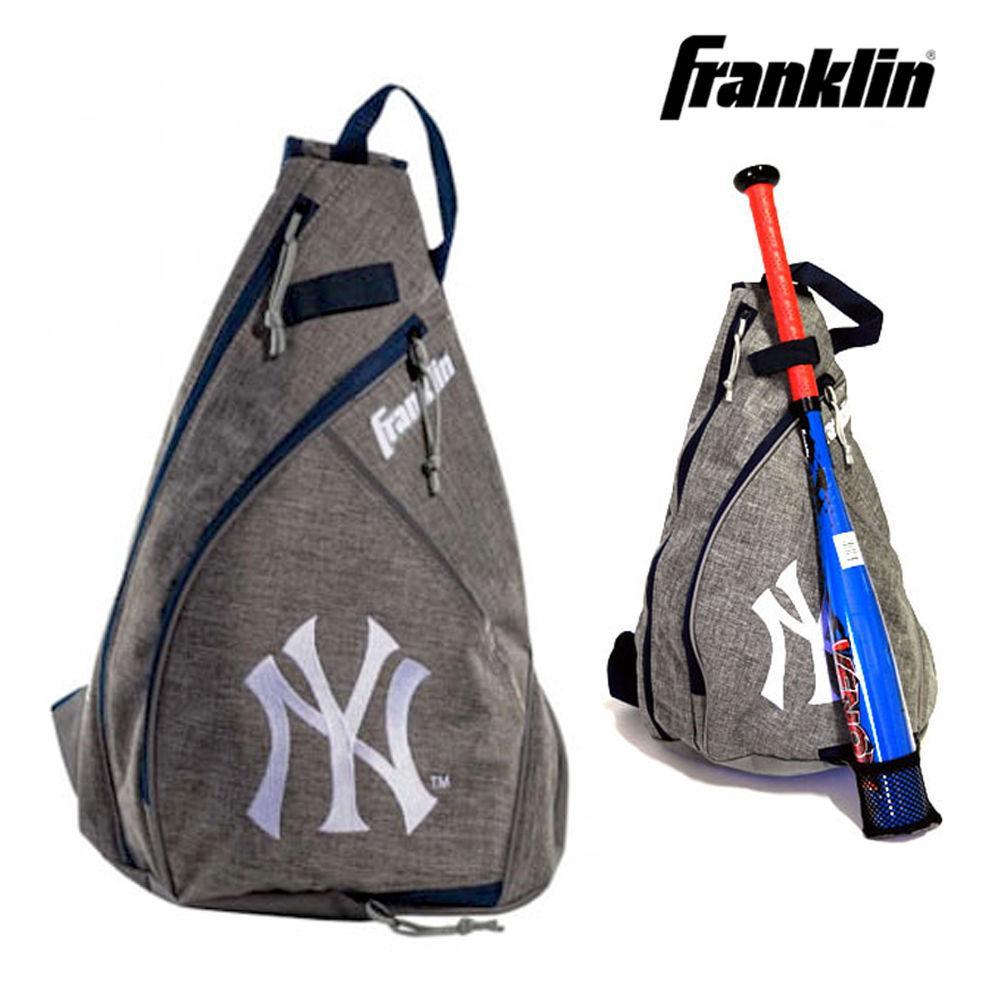 프랭클린 MLB 야구 슬링백 뉴욕 양키즈 (76042F10) 야구가방 야구백팩 슬링백 스포츠백 야구슬링백
