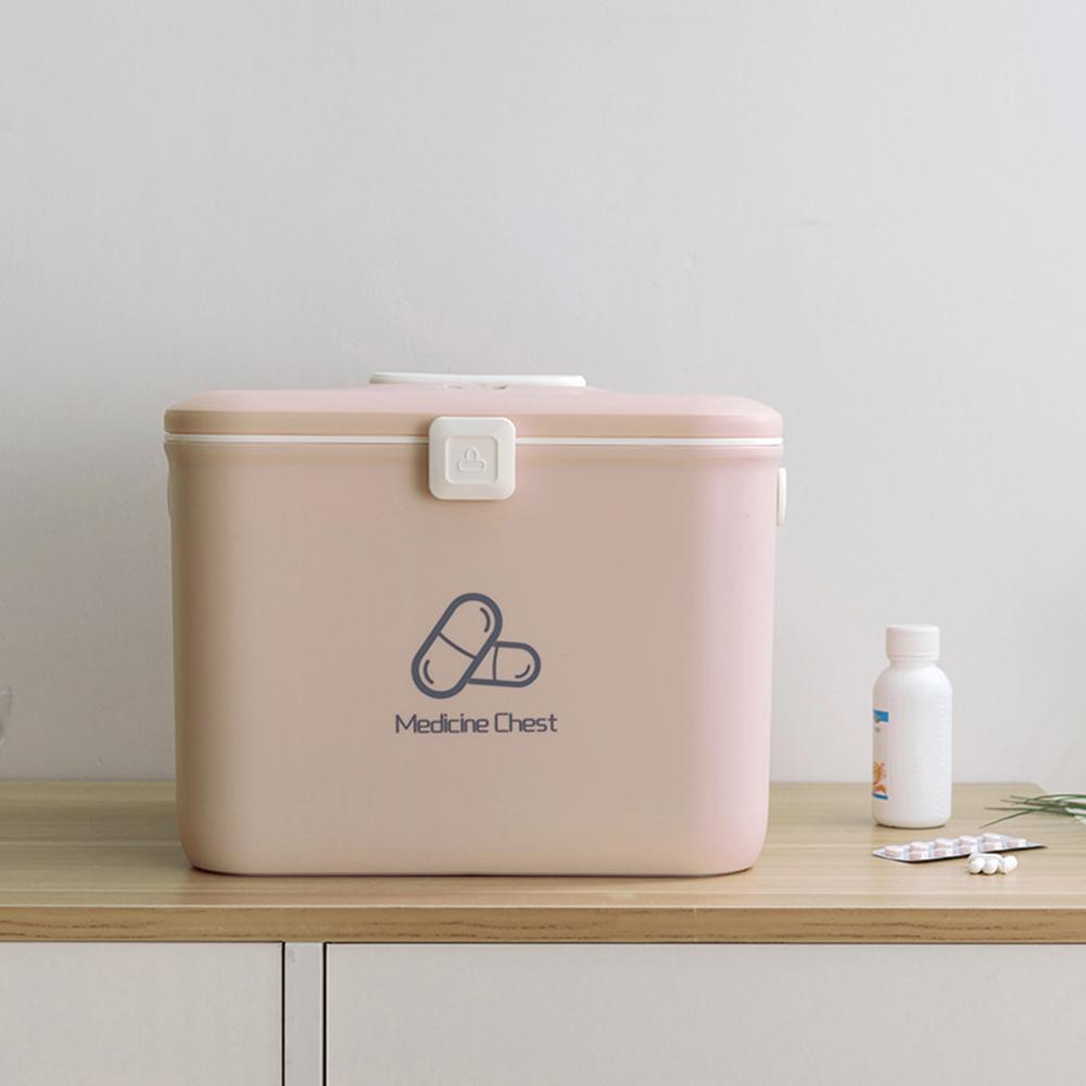 휴대용 구급함 핑크 가정용구급함 가정용구급상자 가정용구급함 구급약통 약상자 가정용구급상자