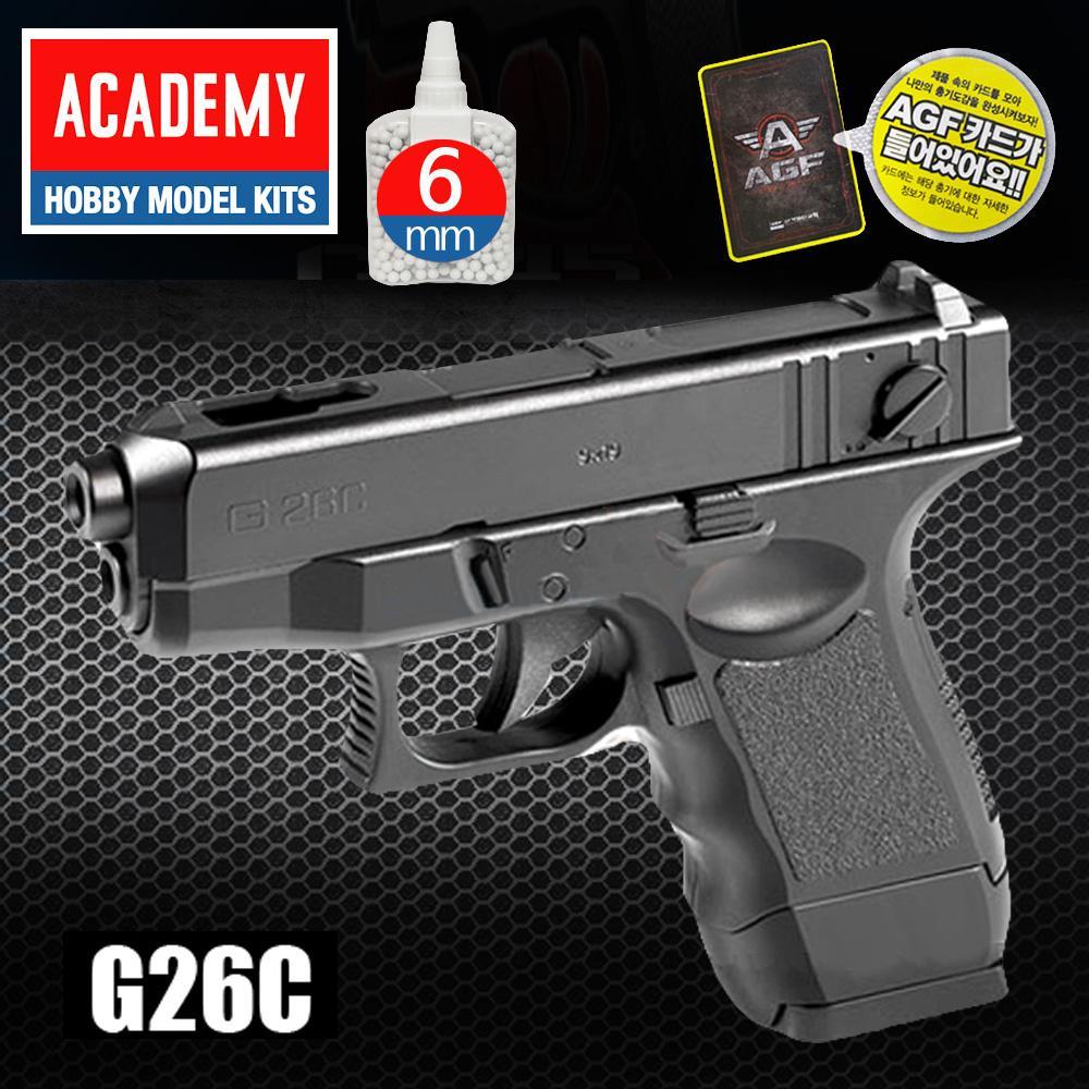AGF235 아카데미소총 G26C BB탄에어건 권총 아카데미 권총 소총 비비탄 BB탄