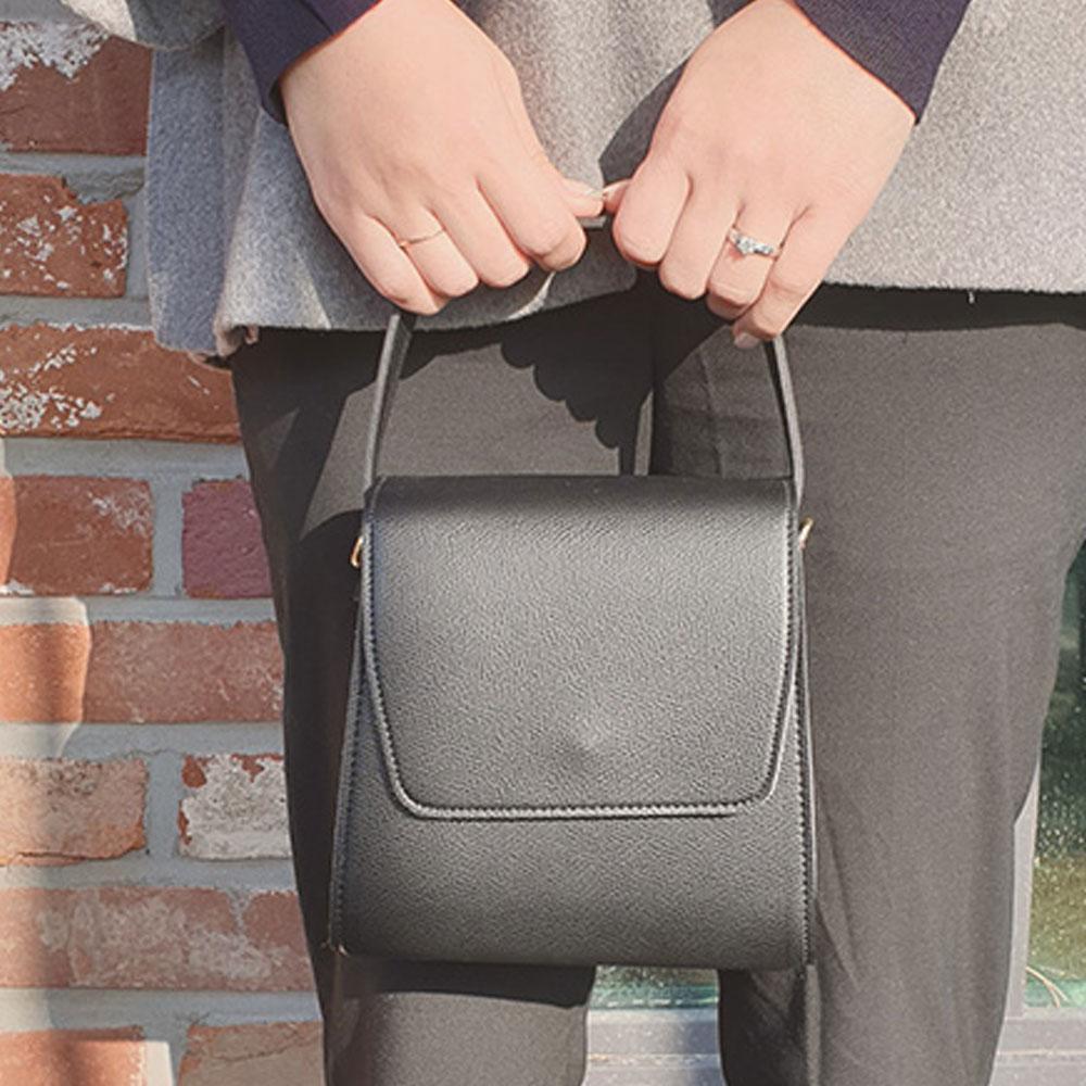 블랙 깔끔한 여자 미니 크로스 여성백 편안한 핸드백 크로스 크로스백 여성백 데일리백 핸드백