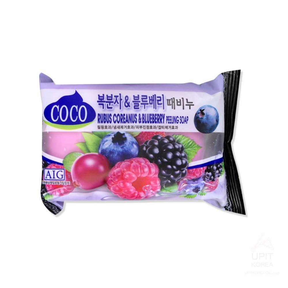 복분자 블루베리 때비누(미세필링효과)_3519 생활용품 가정잡화 집안용품 생활잡화 잡화