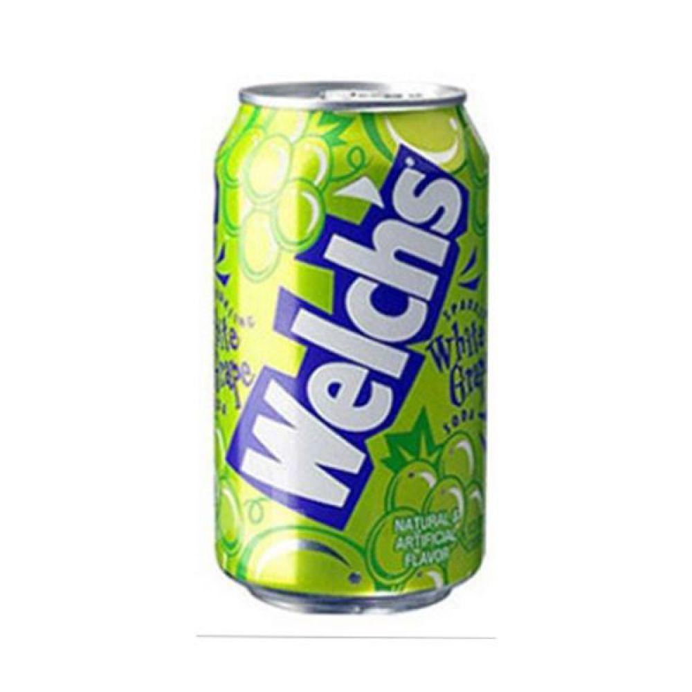 농심) 웰치스 청포도 355ml x 24캔 믿을 수 있는 정품 정량 음료 음료수 음료수 탄산음료 캔음료