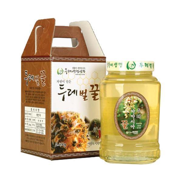 두레생협선물세트 아카시아꿀2.4kg 두레생협 선물세트 아카시아 꿀 아카시아