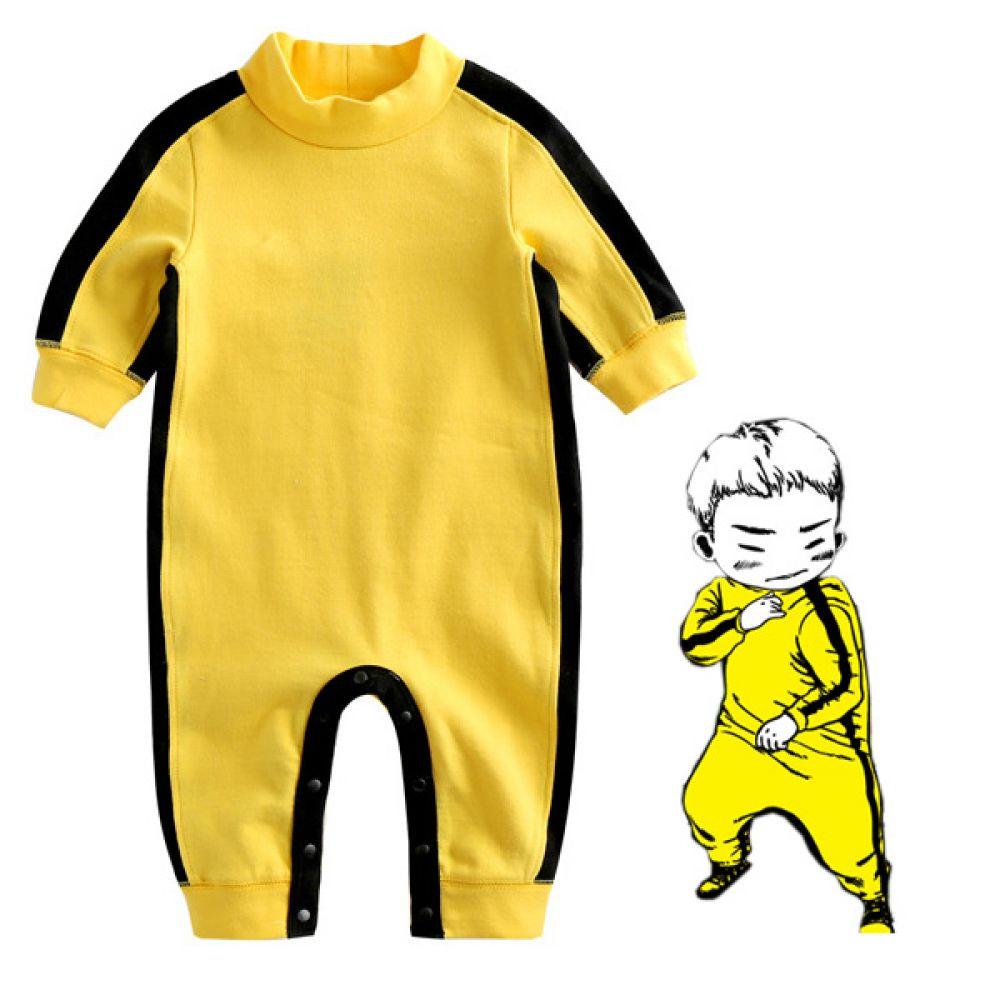이소룡 트레이닝 우주복 (0-18개월) 300171 아기우주복 유아우주복 백일옷 아기옷 유아옷 신생아옷 유아복 실내복 외출복 우주복