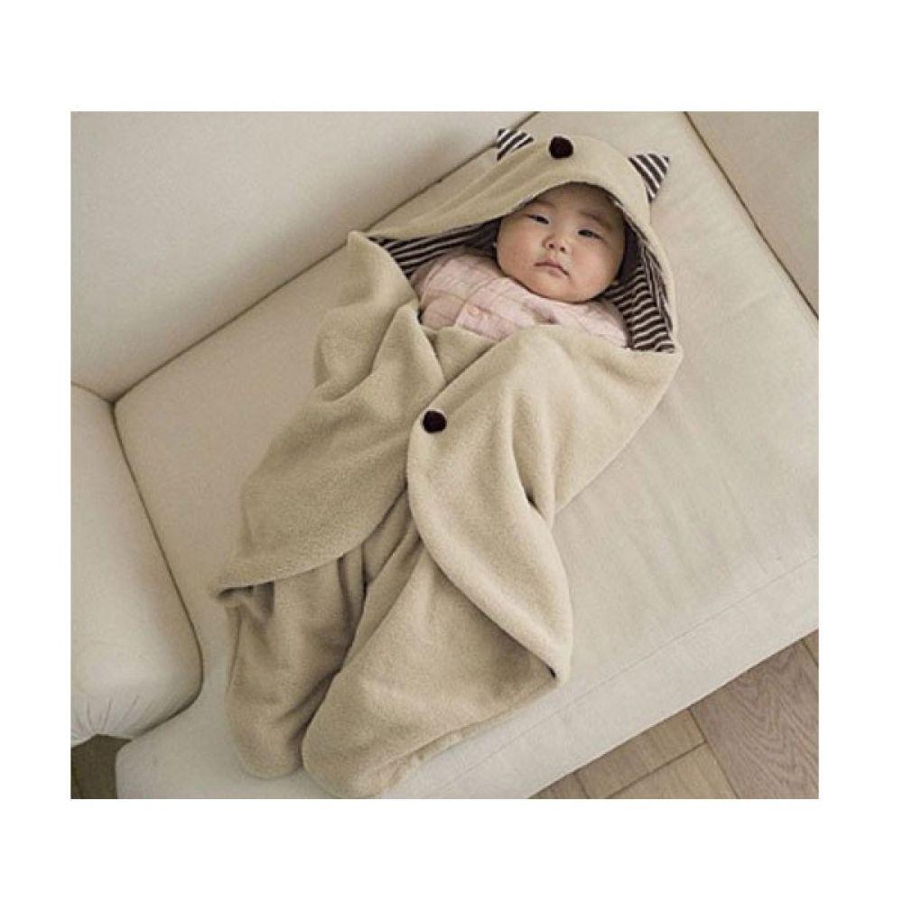Baby 너구리 캐릭터 일본 아기보낭 (0-9개월) 202031 보낭 아기보낭 보낭 신생아 아기담요 겉싸개