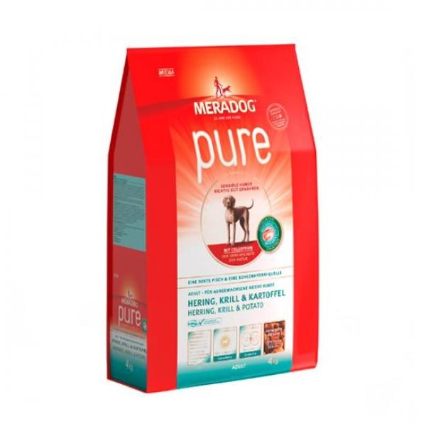 메라독 퓨어 그레인프리(청어n크릴n감자n초유) 4kg 애완사료 건강사료 수제사료 애완용품 사료