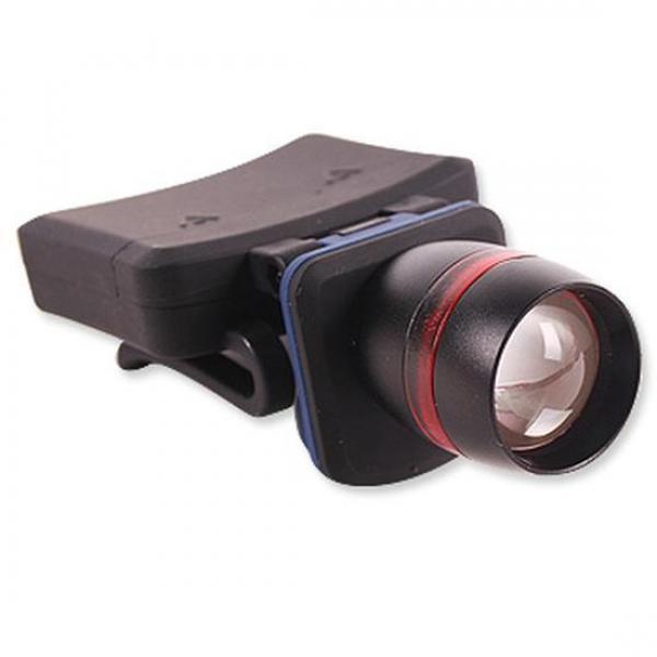 LED Q3모자 줌라이트 (WS-1258) 손전등 후레쉬 캠핑랜턴 후레시 플래쉬