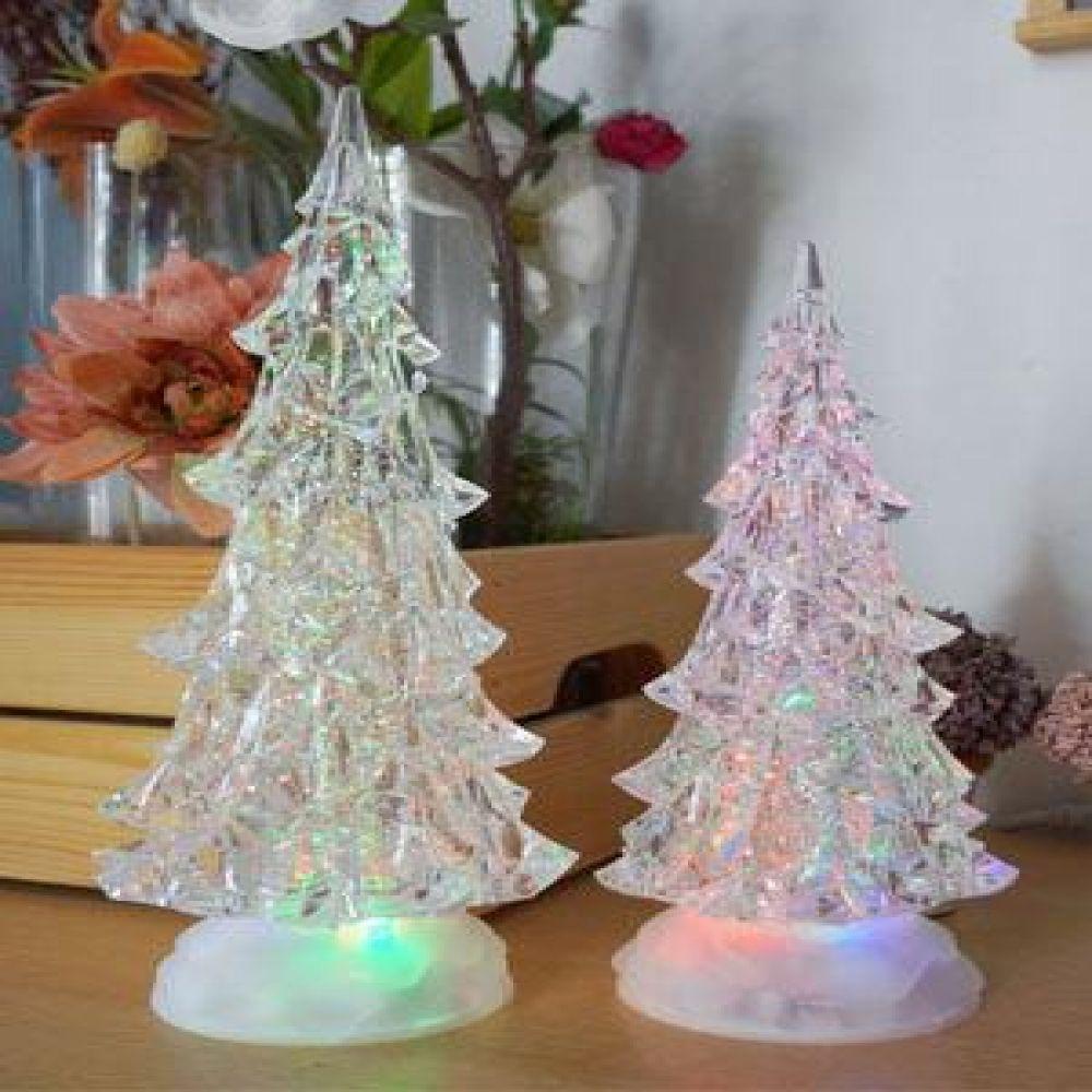 크리스마스 투명 트리 LED 워터볼 (대.소) LED소품 트리소품 크리스마스소품 장식소품 선반장식