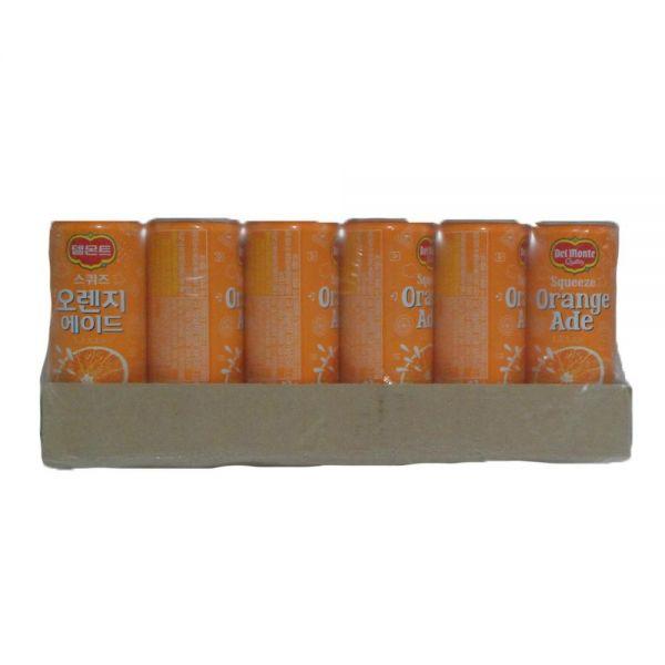 델몬트 스퀴즈 오렌지 에이드 음료수도매 240mlX30캔 업소용음료수 음료도매 캔마켓 업소용캔음료 업소용음료 음료수도매사이트 캔음료 음료유통
