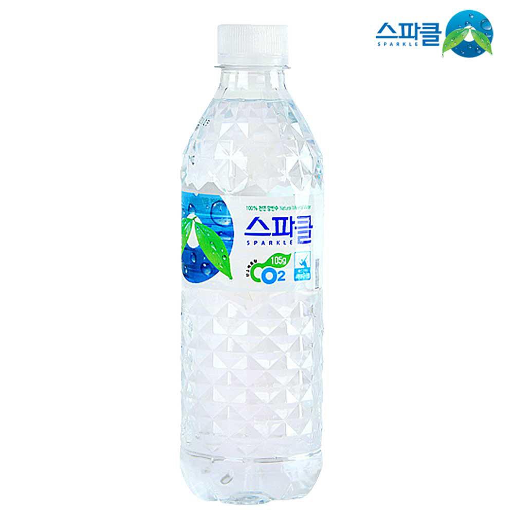 스파클 먹는샘물 500ml x 20개 생수 먹는샘물 물 음료 2L생수