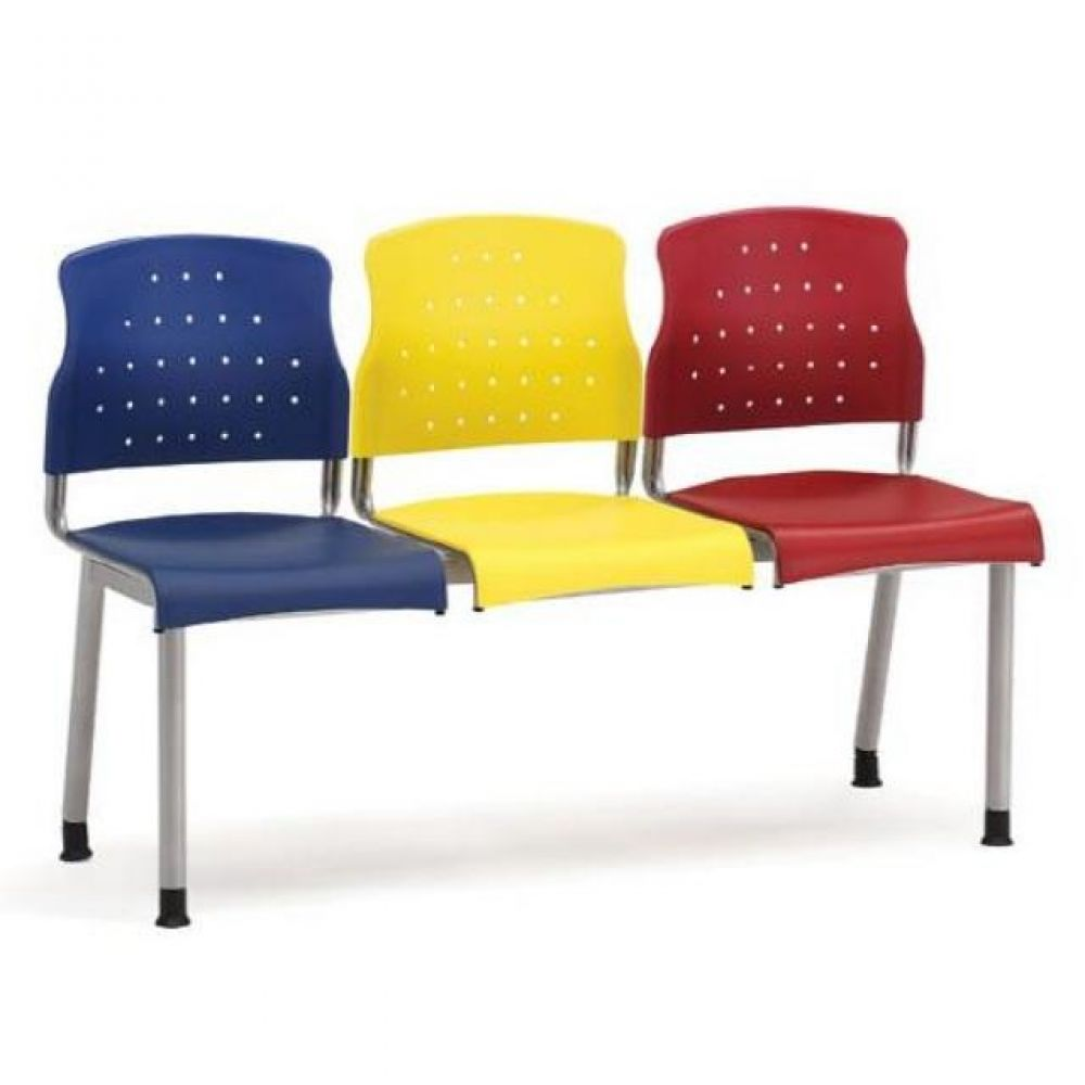 3인용 연결의자 레인보우 팔무(올사출) 630 로비의자 휴게실의자 대기실의자 장의자 3인용의자 2인용의자 약국의자 대합실의자