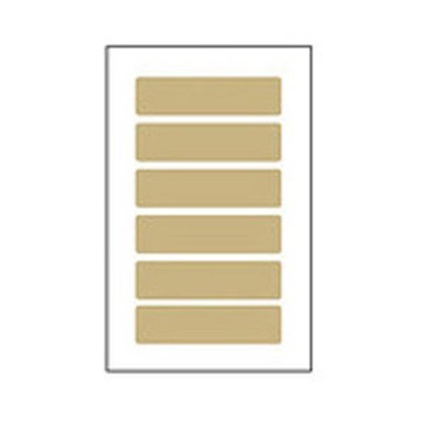 몽동닷컴 세모네모 크라프트지 K228 7매X20개입 20x75 견출지 견출지 스티커 스티커라벨 팬시스티커 라벨